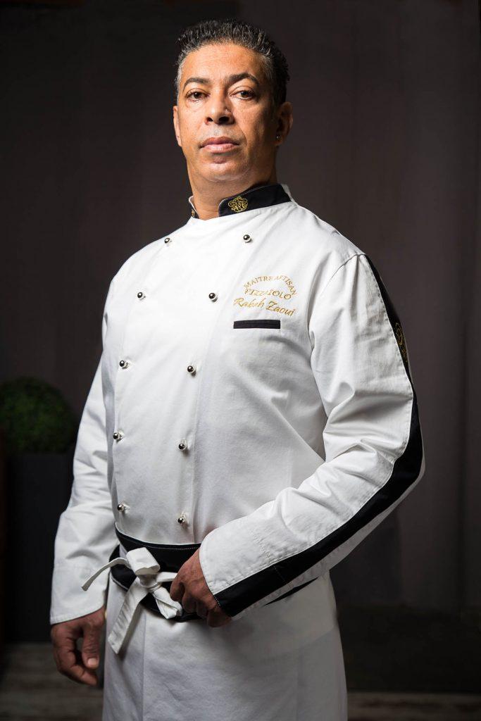 Rabah Zaoui Maître artisan, maître restaurateur et l'un des chefs pizzaiolo les plus capé au monde